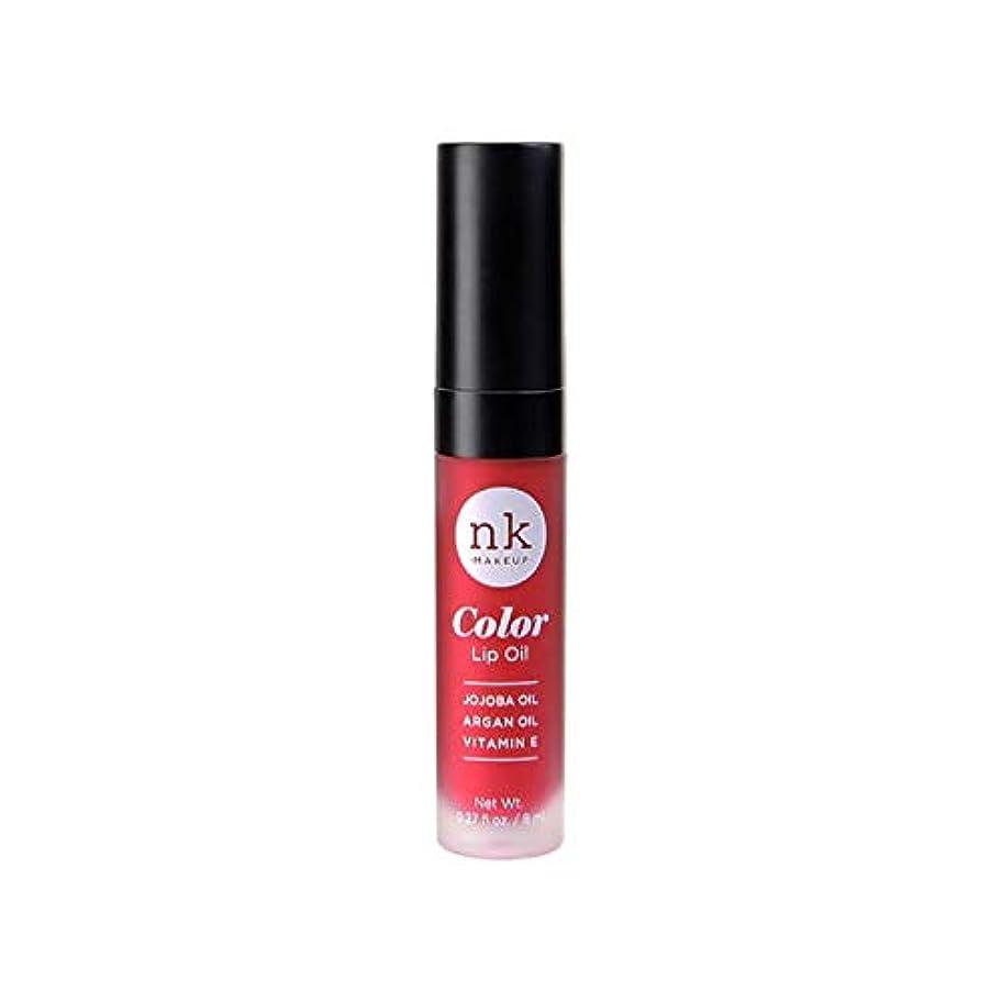 抵抗キャッチ女性NICKA K Color Lip Oil - Poppy (並行輸入品)