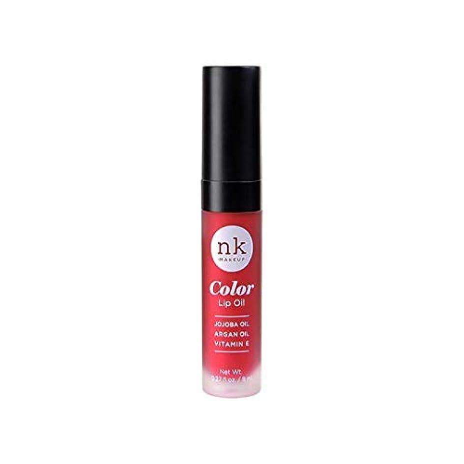 内向き証明寄付するNICKA K Color Lip Oil - Poppy (並行輸入品)