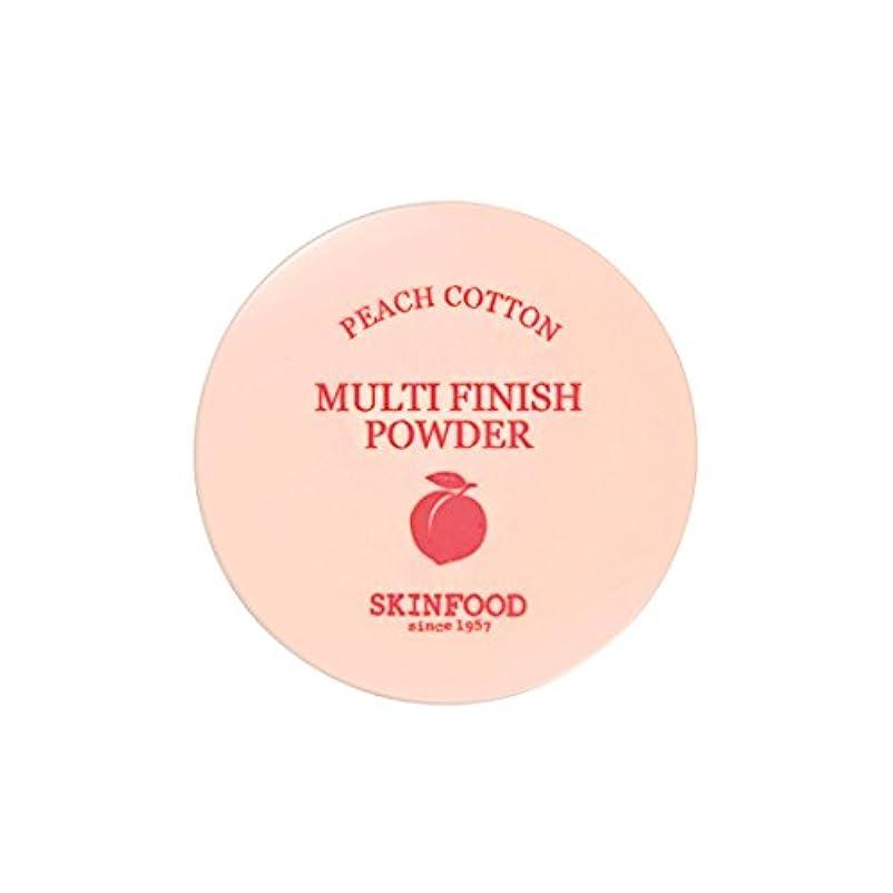 本部ラジウム洪水[New] SKINFOOD Peach Cotton Multi Finish Powder/スキンフード ピーチ コットン マルチ フィニッシュ パウダー (#小容量:5g) [並行輸入品]