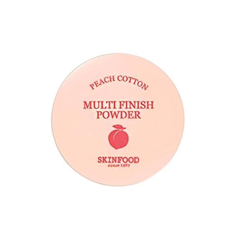 スクラッチコットンドループ[New] SKINFOOD Peach Cotton Multi Finish Powder/スキンフード ピーチ コットン マルチ フィニッシュ パウダー (#小容量:5g) [並行輸入品]
