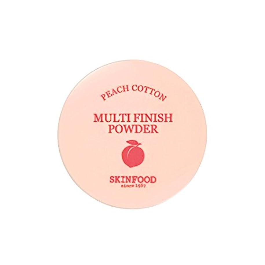 郵便局納屋持続的[New] SKINFOOD Peach Cotton Multi Finish Powder/スキンフード ピーチ コットン マルチ フィニッシュ パウダー (#小容量:5g) [並行輸入品]