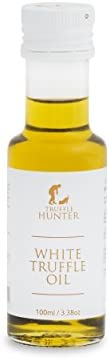 White Truffle Oil (3.38 Oz) by TruffleHunter - Made with Cold Pressed Extra Virgin Olive Oil - Vegan, Kosher,