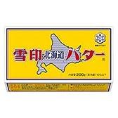 雪印乳業 北海道バター   200g[冷蔵]