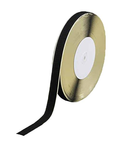 TRUSCO マジックテープ糊付A側 TMAN-2525-BK