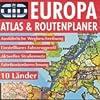 GID Europa Atlas und Routenplaner. CD- ROM fuer Windows 95/987/ NT. Ausfuehrliche Wegbeschreibung. Einstellbares Fahrzeugprofil