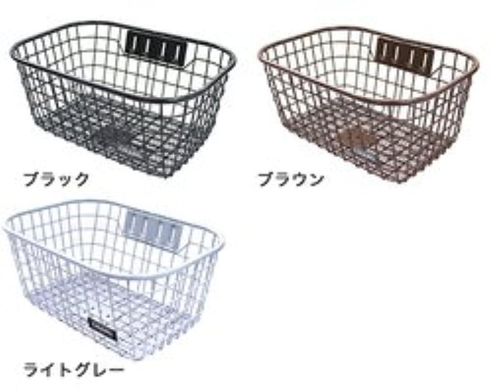 フォージメニュー委任する底メッシュワイヤーバスケット SWM-731-CH (ライトグレー)
