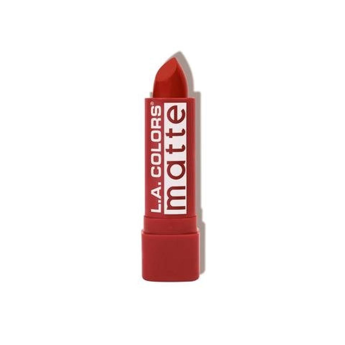 外出リー秘書L.A. COLORS Matte Lip Color - Red Tango (並行輸入品)