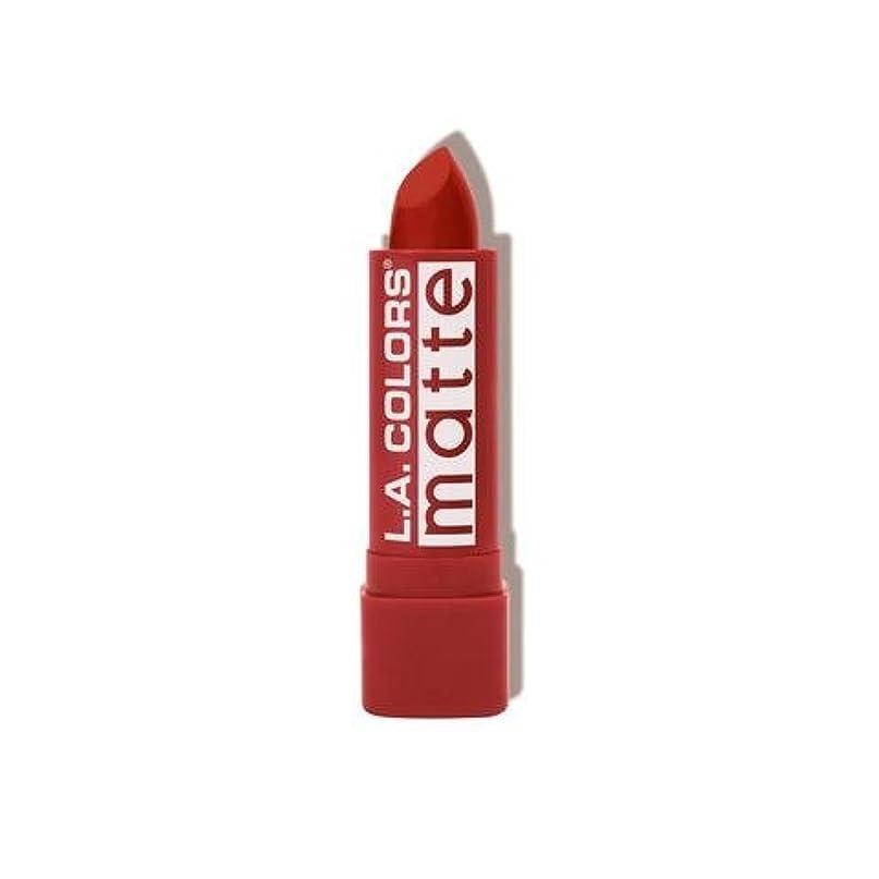 L.A. COLORS Matte Lip Color - Red Tango (並行輸入品)