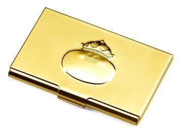 即決♪ ドラゴンクエスト 25周年記念アイテム ◆金色カードケース メタルキング 名刺入れ SQEX 新品!キングスライム