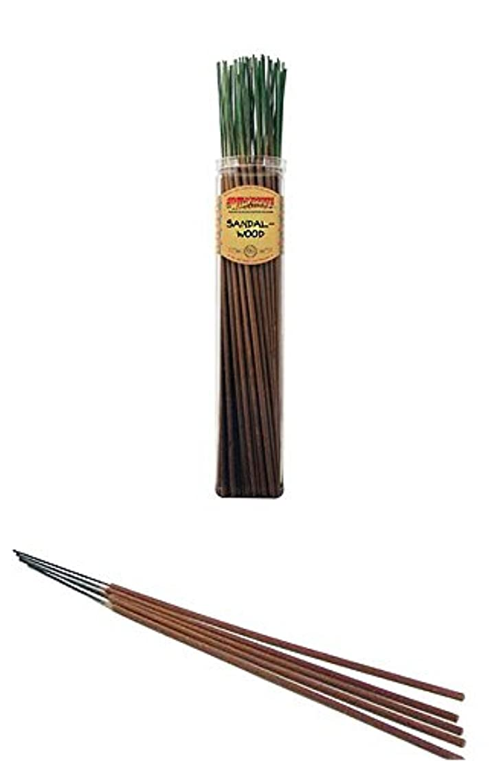 側面収縮実証するサンダルウッド – Wild Berry Highly Fragranced Large Incense Sticks