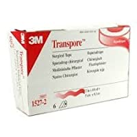 3M Transpore Surgical Tape 2 x 10 Yard, 6/bx by 3M