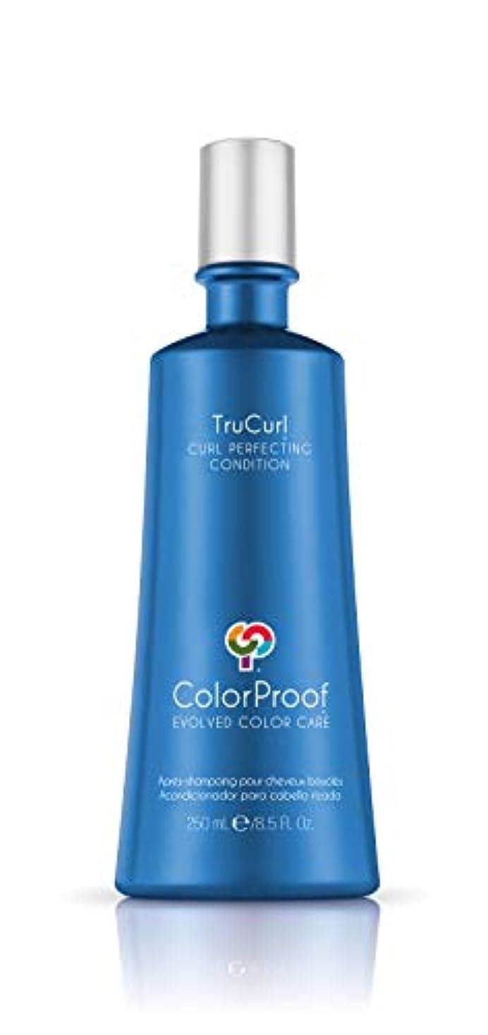 シミュレートする信者ふさわしいColorProof Evolved Color Care Trucurl Curl Perfecting Conditioner, 8.5 Fl Oz