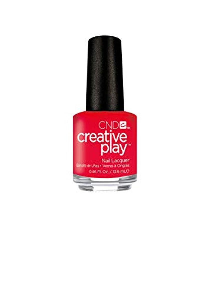 ファン指紋排出CND Creative Play Lacquer - Coral Me Later - 0.46oz / 13.6ml
