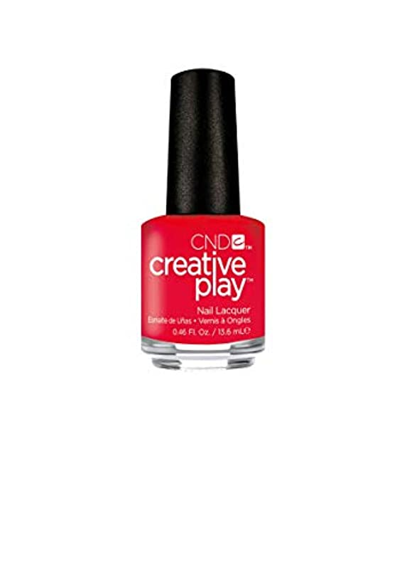 矩形着実に自動車CND Creative Play Lacquer - Coral Me Later - 0.46oz / 13.6ml
