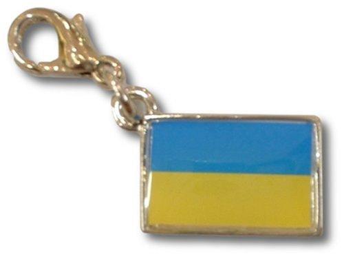 NATIONALFLAG 国旗柄ファスナーホルダー ウクライナ 07172-7