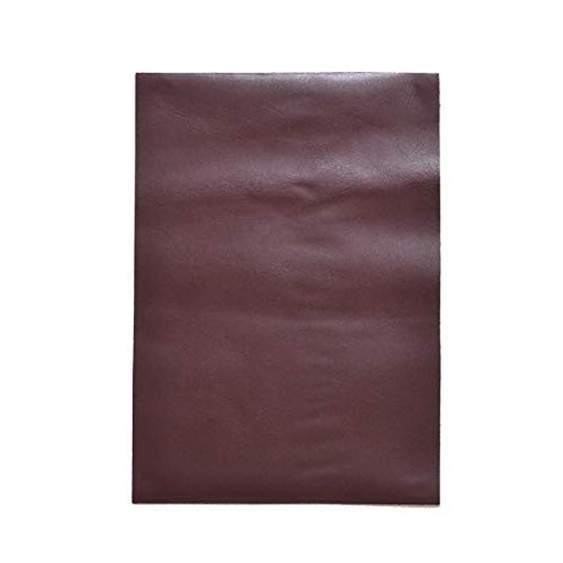 映画表向きマイクTOKEN トーケン レザークラフト 材料 皮 革 日本産 牛革 ステア クロム鞣 レザー 厚さ 約1.0mm?1.4mm (RED.BROWN, A4)