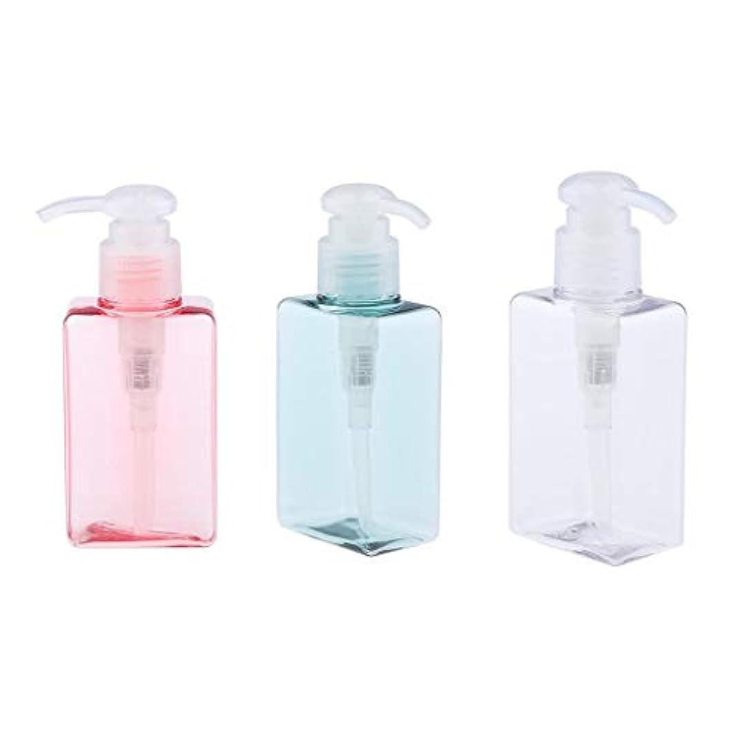 コミット涙役職gazechimp 3個 ポンプボトル エアレスポンプ 空の化粧ボトル 漏れ防止