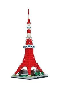 ナノブロック 東京タワー デラックスエディション NB-022