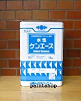 日本ペイント 水性ケンエース調色 淡彩色・中彩色 16kg 宇治色