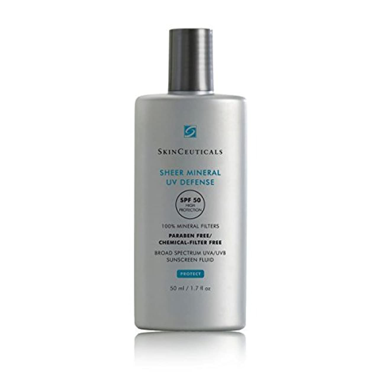 たらい思いやりのあるパークSkinceuticals Protect Sheer Mineral Uv Defense Spf50 50ml [並行輸入品]