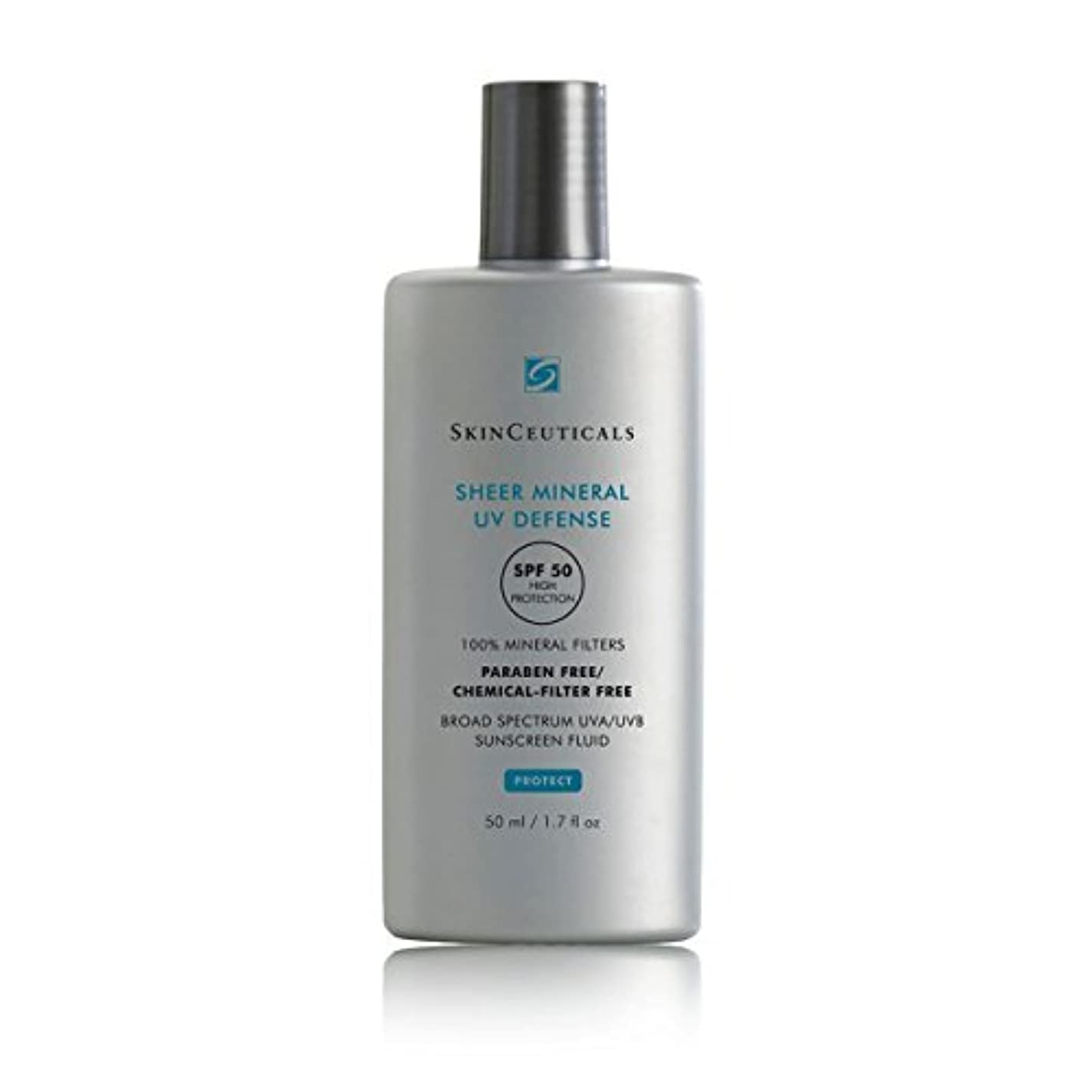 絶対にパイカバーSkinceuticals Protect Sheer Mineral Uv Defense Spf50 50ml [並行輸入品]