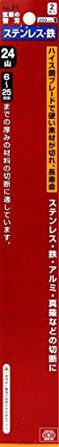 SK11 エスケー11 SK11 弦鋸の替刃 金切鋸刃 ステンレス用 24山 2枚入 No.21