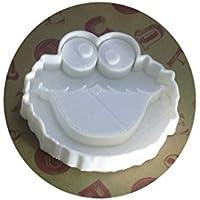 fan×fun クッキー型 クッキーモンスター 大きめサイズ ホワイト