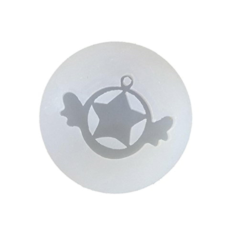 ノーブランド品 DIY シリコーン型 吊り穴 宝石 ペンダント チャーム カボション ポリマークレイ 金型 モールド 全9パタン選べる - #7