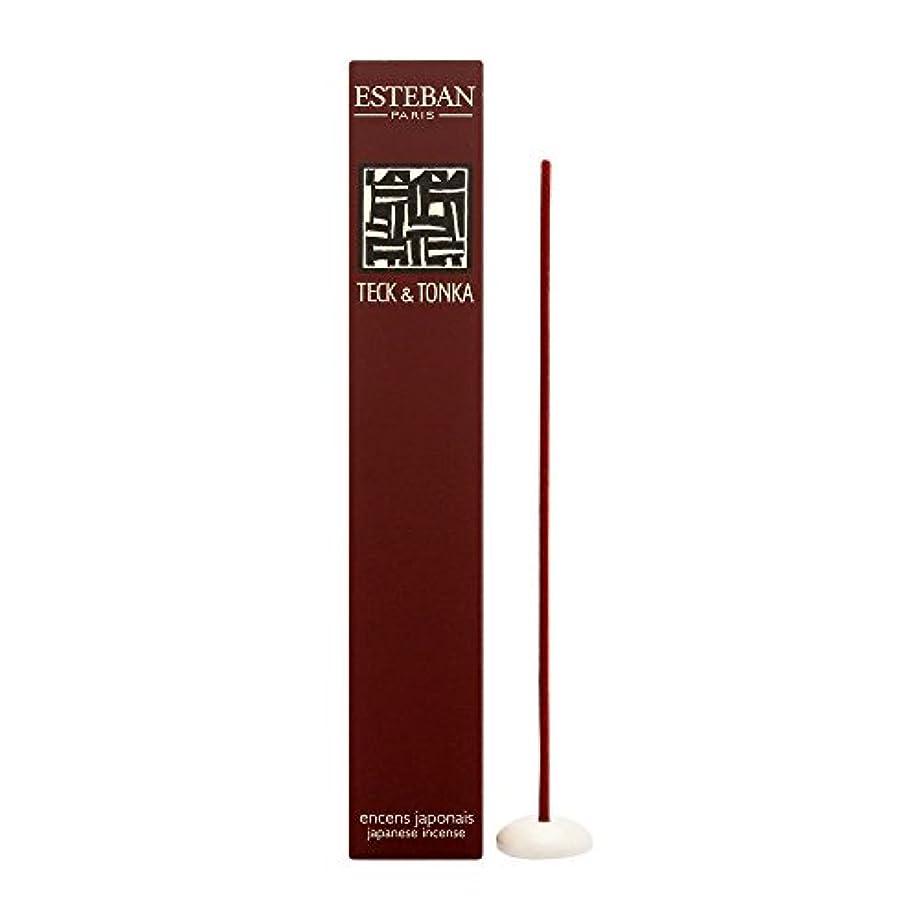 通信する手当些細Esteban Teck & Tonka 日本製お香スティック 40本