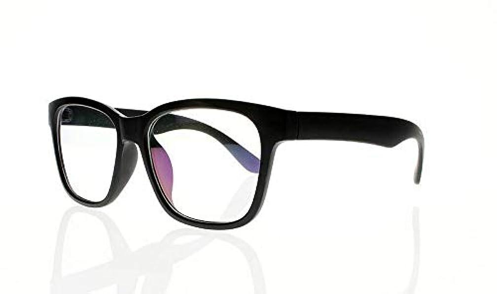 FidgetGear 6色亀の花ビッグフレームレトロアセテート木製老眼鏡+ 1.0?+ 4.0 ブラック