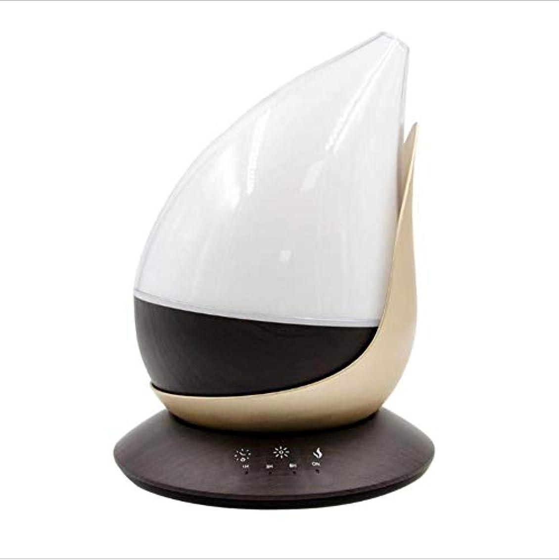 魅了するレオナルドダ優先図形をドロップします。 涼しい霧 加湿器,7 色 デスクトップ 加湿機 時間 自動シャット ダウン-オフ 精油 ディフューザー アロマネブライザー ホーム オフィス- 350ml