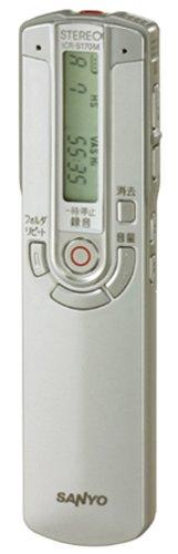 SANYO ICR-S170M(S) デジタルボイスレコーダー (シルバー)