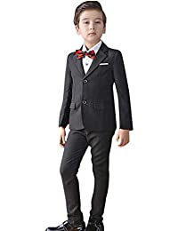 d58df3b930 子供スーツ 男の子 卒業式 入学式 子供フォーマル スーツ 4点 ...