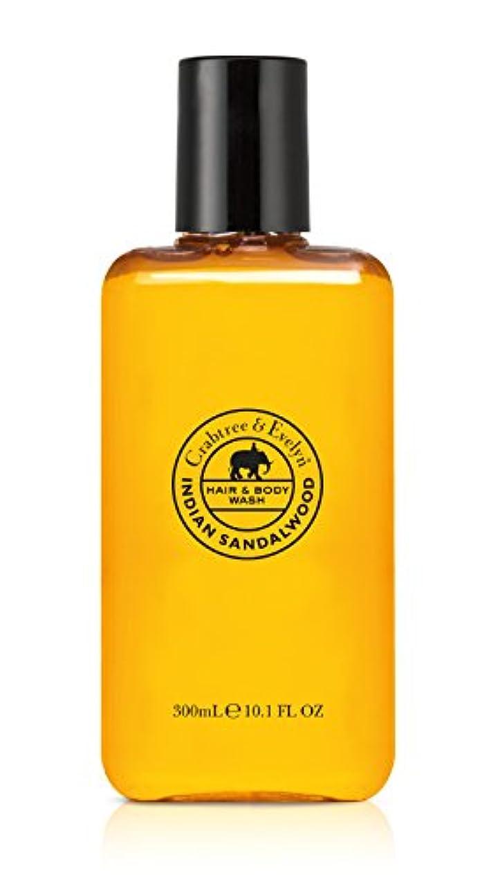 白いシェーバー穿孔するIndian Sandalwood Hair and Body Wash