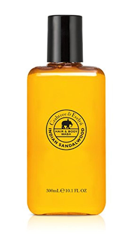 カブ寄付する目を覚ますIndian Sandalwood Hair and Body Wash