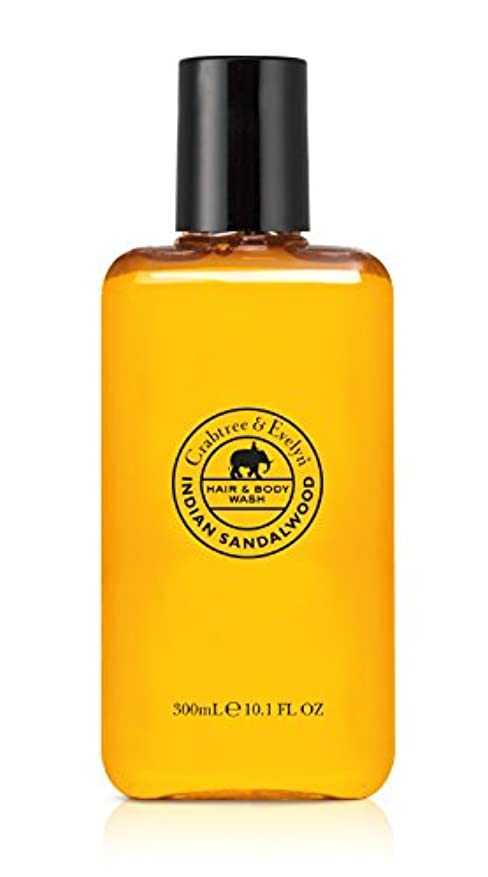 レンズ大邸宅手数料Indian Sandalwood Hair and Body Wash
