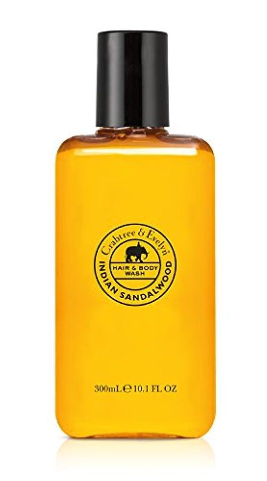 鏡故意に抗生物質Indian Sandalwood Hair and Body Wash