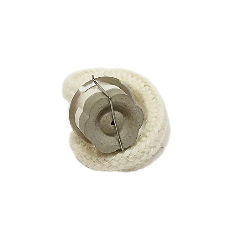 花世界の窓パワーミニランプ用 交換バーナー (シルバー) セラミック芯