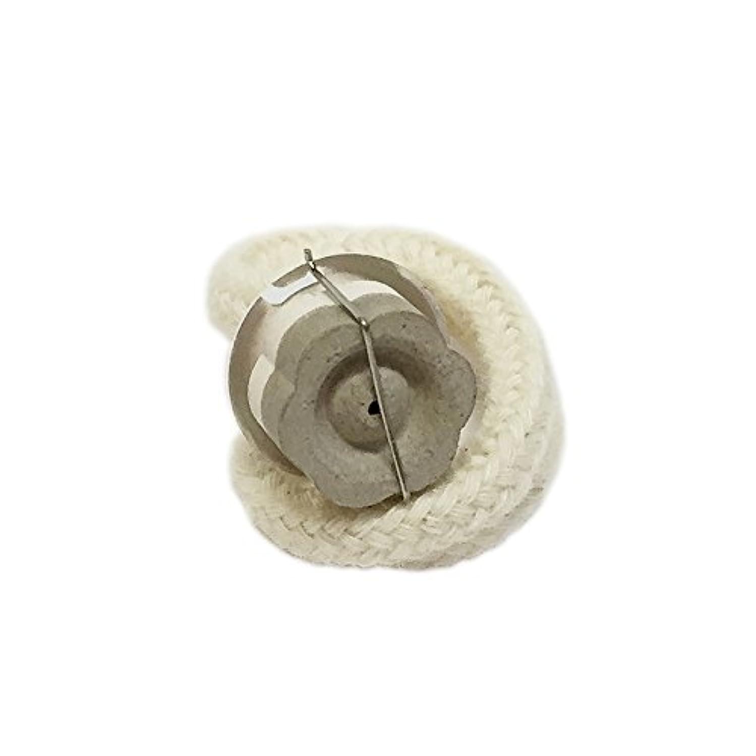 期限イタリアの気怠いミニランプ用 交換バーナー (シルバー) セラミック芯