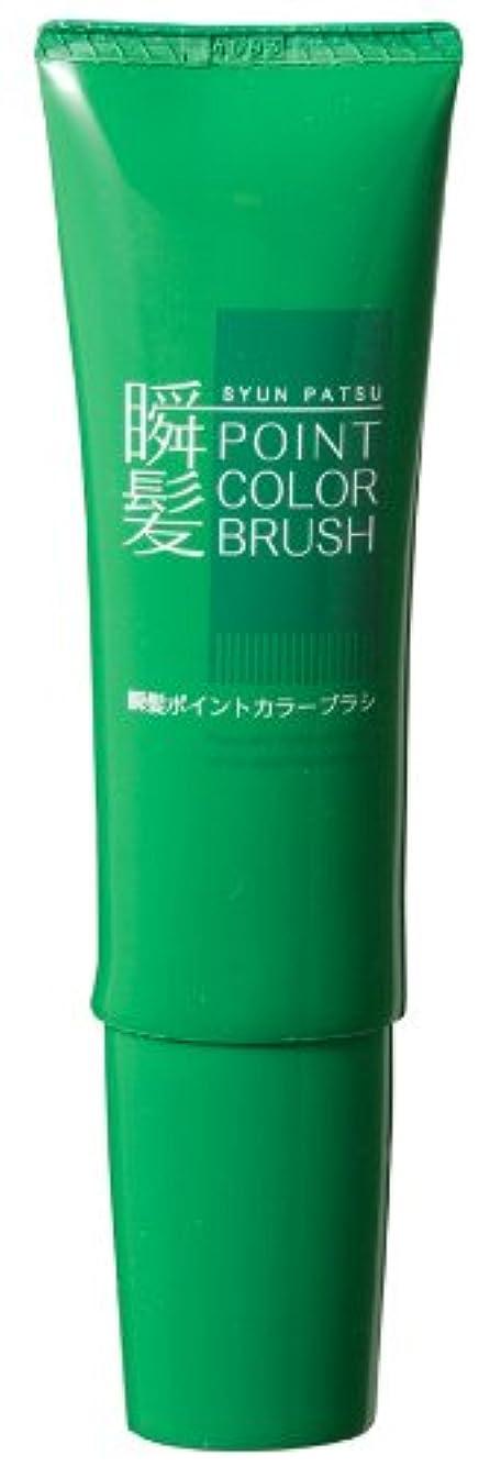 酸度うなる花瓶瞬髪ポイントカラーブラシ(色:ナチュラルブラック)