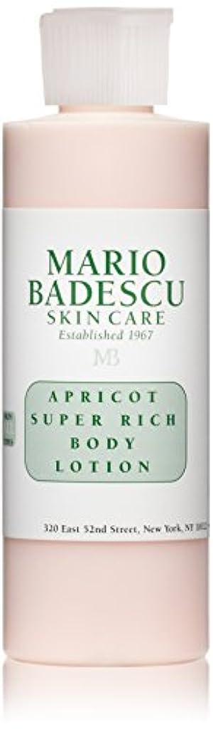 担当者独立評論家マリオ バデスク Apricot Super Rich Body Lotion - For All Skin Types 177ml/6oz