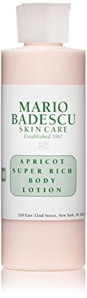 小さなタンザニア珍しいマリオ バデスク Apricot Super Rich Body Lotion - For All Skin Types 177ml/6oz