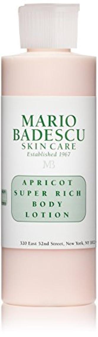 差し迫ったタフ明るくするマリオ バデスク Apricot Super Rich Body Lotion - For All Skin Types 177ml/6oz