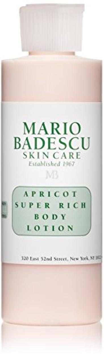 分数初期の交流するマリオ バデスク Apricot Super Rich Body Lotion - For All Skin Types 177ml/6oz