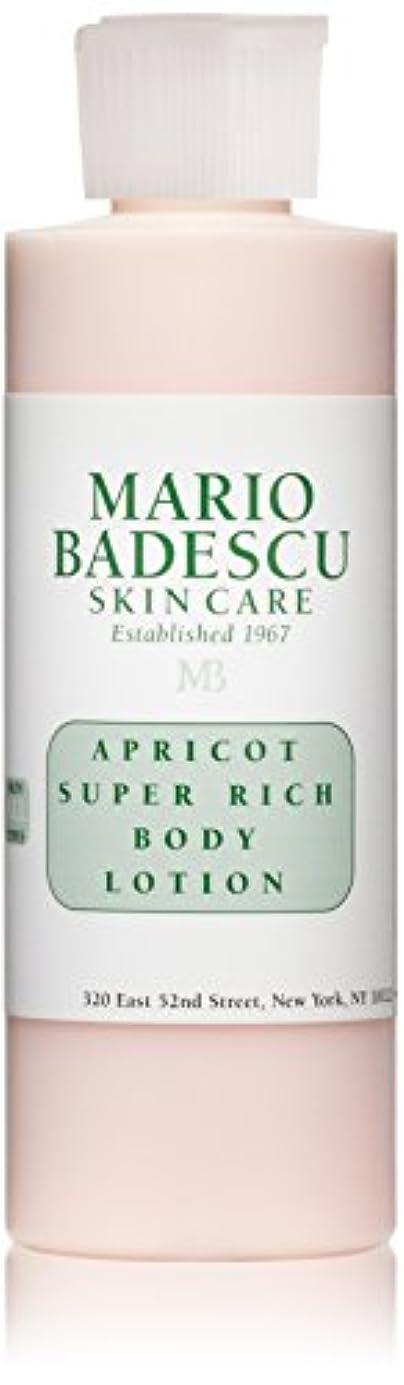 ニュージーランドポーク息を切らしてマリオ バデスク Apricot Super Rich Body Lotion - For All Skin Types 177ml/6oz