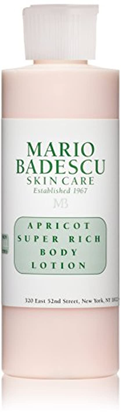 透過性これら警察マリオ バデスク Apricot Super Rich Body Lotion - For All Skin Types 177ml/6oz