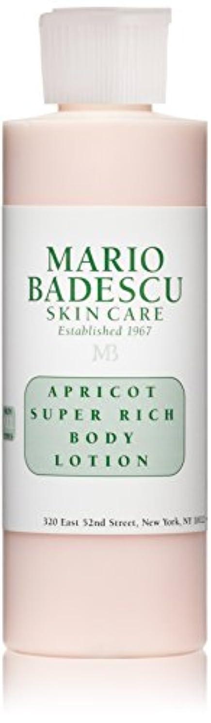 無傷とらえどころのない公演マリオ バデスク Apricot Super Rich Body Lotion - For All Skin Types 177ml/6oz