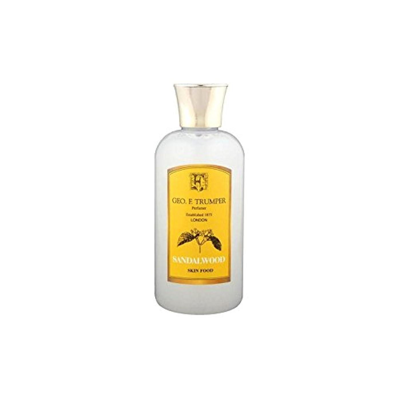 成熟持つオレンジTrumpers Sandalwood Skin Food - 100ml Travel (Pack of 6) - サンダルウッドスキンフード - 100ミリリットル旅 x6 [並行輸入品]
