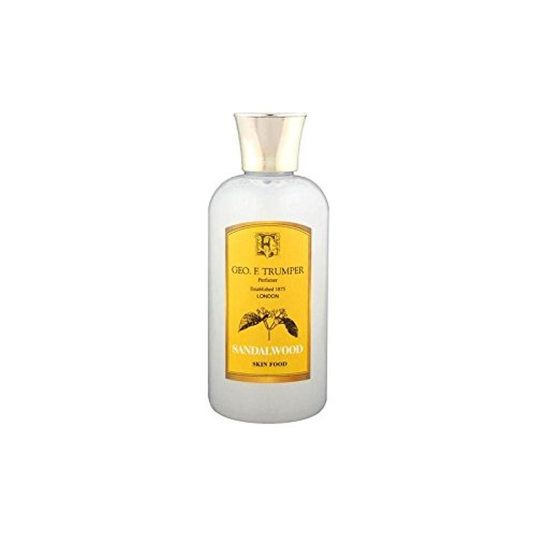 多様性天皇熟練したTrumpers Sandalwood Skin Food - 100ml Travel (Pack of 6) - サンダルウッドスキンフード - 100ミリリットル旅 x6 [並行輸入品]