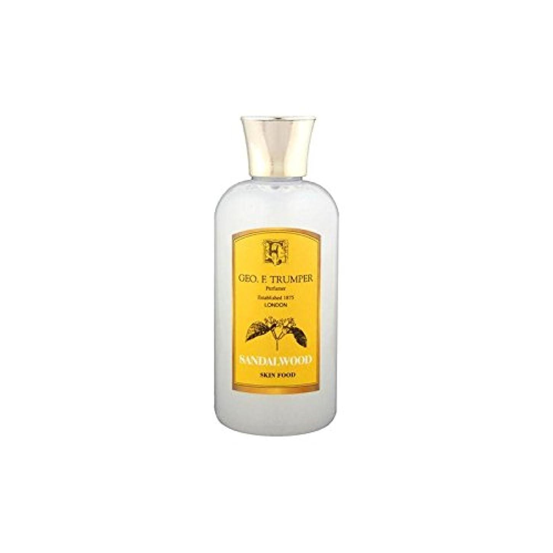 ソロ不条理調べるTrumpers Sandalwood Skin Food - 100ml Travel (Pack of 6) - サンダルウッドスキンフード - 100ミリリットル旅 x6 [並行輸入品]
